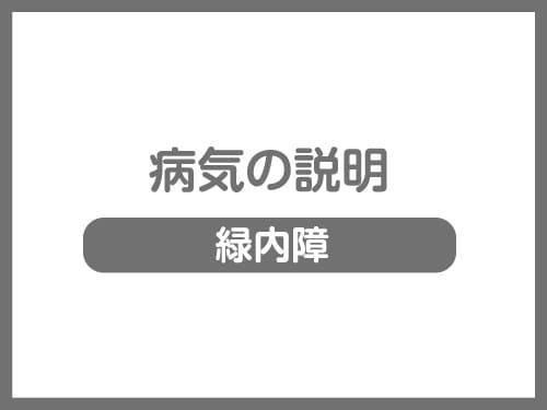 緑内障 ブログ